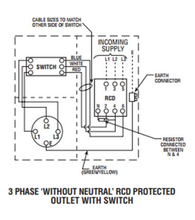 Three wire connection of Residual Current Devices (RCDs) on tube schematic, heater schematic, photoresistor schematic, coil schematic, breaker schematic, shunt schematic, diode schematic, wiring schematic, rheostat schematic, battery schematic, spring schematic, fuse schematic, inductor schematic, wire schematic, fan schematic, eniac schematic, voltage schematic, light schematic, capacitor schematic, starter schematic,